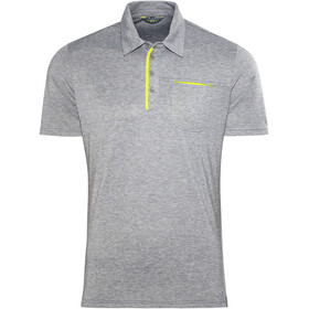 Meru Grasse Polo Shirt Men Anthracite